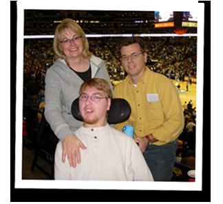 Ken, Kim and Austin Ziel